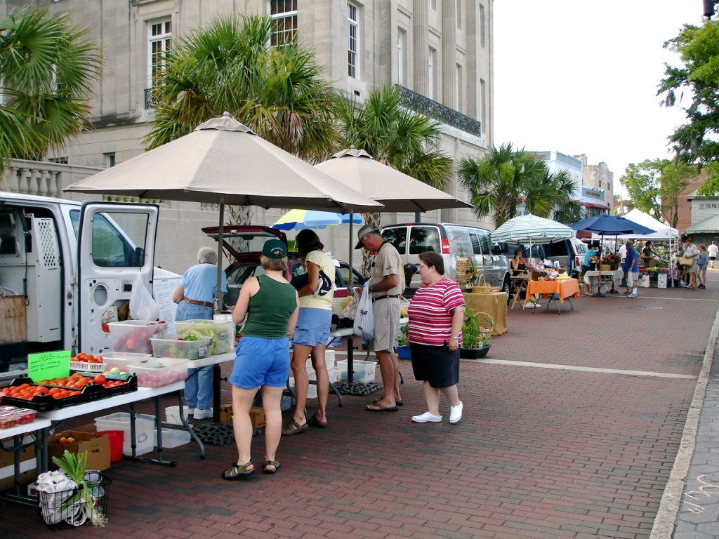 Wilmington Riverfront Farmers Market Coastal NC Beaches Hotels Attractions