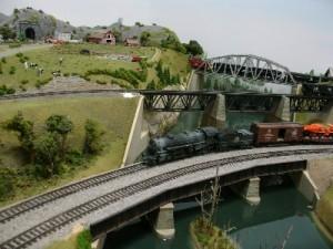 Railroad Muesum Model Room