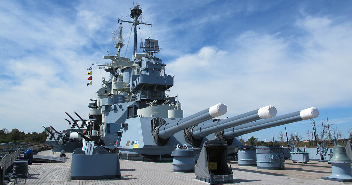 Battleship North Carolina Wilmington NC
