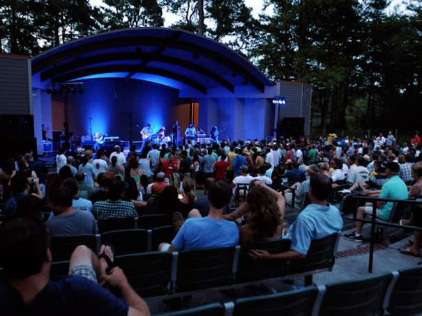 Hugh Morton Amphitheatre at Greenfield Lake Wilmington NC
